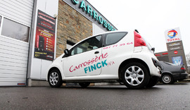 Carrosserie Finck - Spa - Nos réalisations